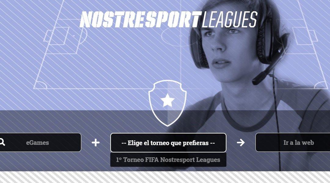 NOSTRESPORT LEAGUES PRESENTA NOVA WEB I LÍNIA DE EGAMES