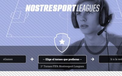 NOSTRESPORT LEAGUES PRESENTA NUEVA WEB Y LÍNEA DE EGAMES