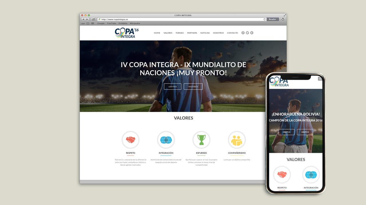 web copa integra